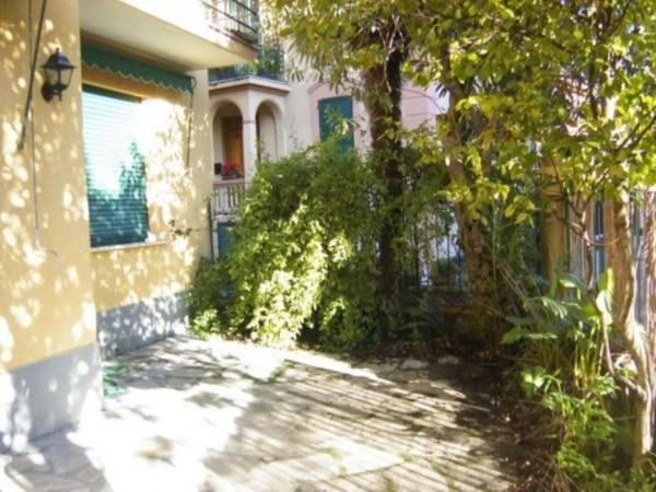 Appartamento in vendita a Rapallo, Mare, Arredato, con giardino, 110 mq - Foto 1