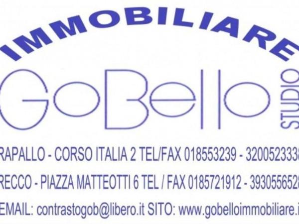 Appartamento in vendita a Rapallo, San Michele Di Pagana, Arredato, 40 mq - Foto 6