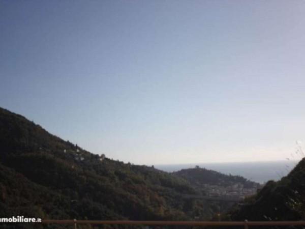 Villetta a schiera in vendita a Rapallo, San Maurizio Di Monti, Con giardino, 110 mq