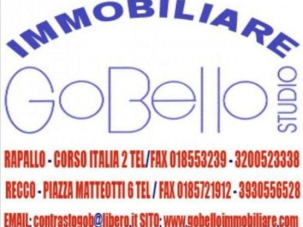 Appartamento in vendita a Santa Margherita Ligure, Belvedere, Arredato, 50 mq - Foto 4