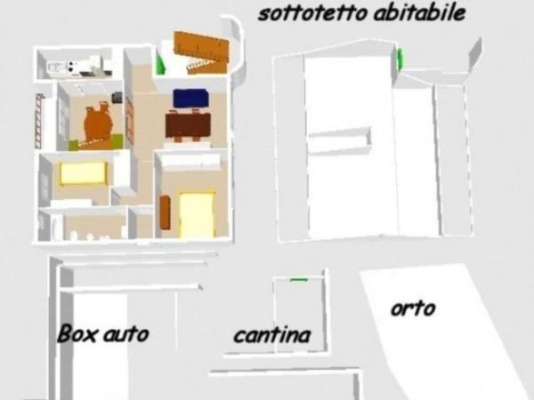Villetta a schiera in vendita a Santa Margherita Ligure, Comodo Centro, Con giardino, 162 mq - Foto 18