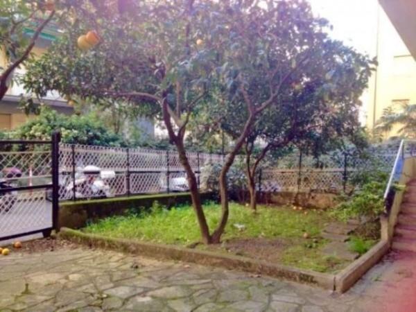 Appartamento in vendita a Santa Margherita Ligure, Via Maragliano, Con giardino, 180 mq - Foto 1