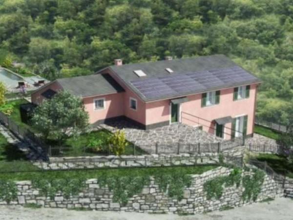 Villetta a schiera in vendita a Santa Margherita Ligure, Con giardino, 80 mq