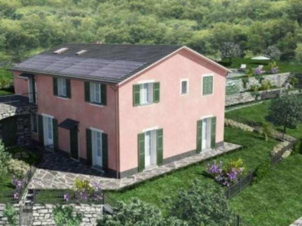 Villetta a schiera in vendita a Santa Margherita Ligure, Con giardino, 80 mq - Foto 6