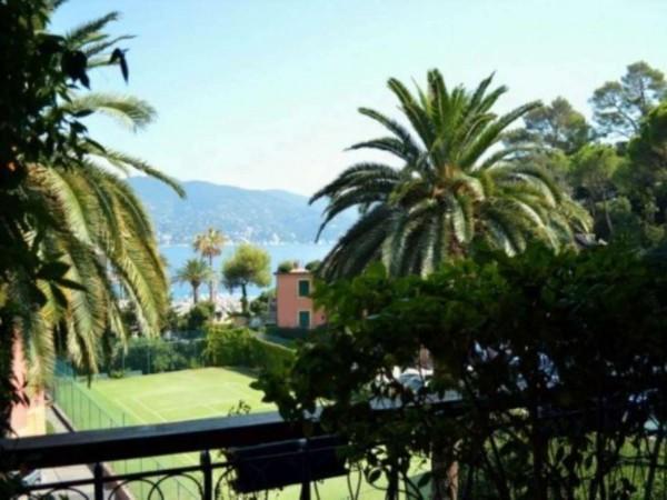 Appartamento in vendita a Santa Margherita Ligure, Porto Turistico, Arredato, con giardino, 120 mq - Foto 1