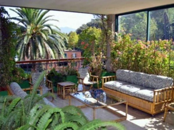 Appartamento in vendita a Santa Margherita Ligure, Porto Turistico, Arredato, con giardino, 120 mq - Foto 14