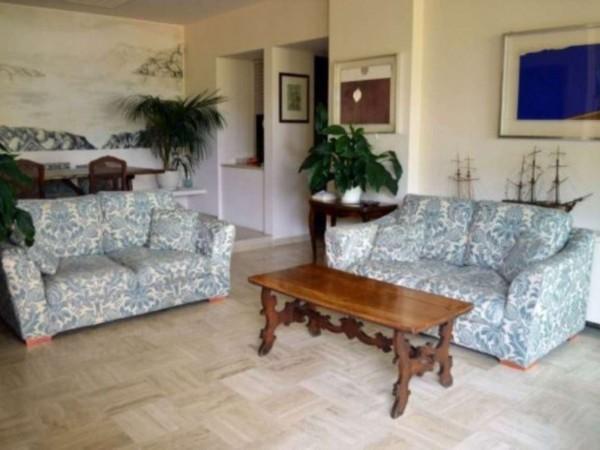 Appartamento in vendita a Santa Margherita Ligure, Porto Turistico, Arredato, con giardino, 120 mq - Foto 12