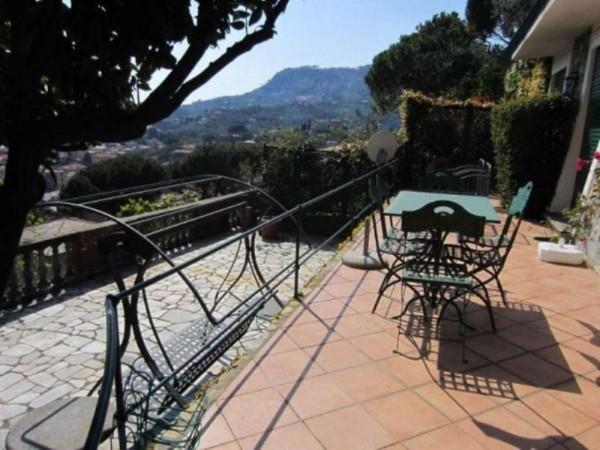Villa in vendita a Santa Margherita Ligure, Centrale, Arredato, con giardino, 100 mq - Foto 13