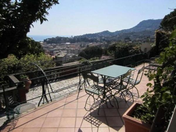 Villa in vendita a Santa Margherita Ligure, Centrale, Arredato, con giardino, 100 mq - Foto 1