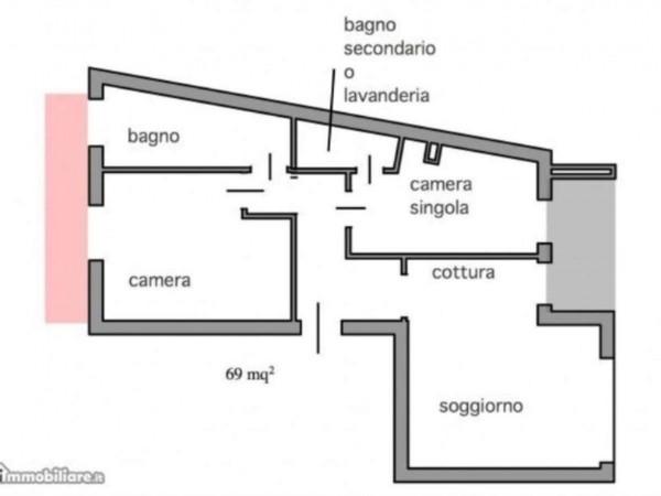 Appartamento in vendita a Zoagli, Aurelia, 72 mq - Foto 6