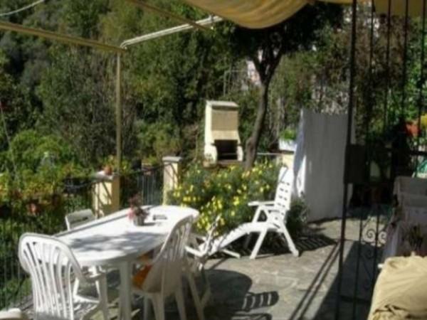 Casa indipendente in vendita a Zoagli, Mare, Arredato, con giardino, 120 mq - Foto 6