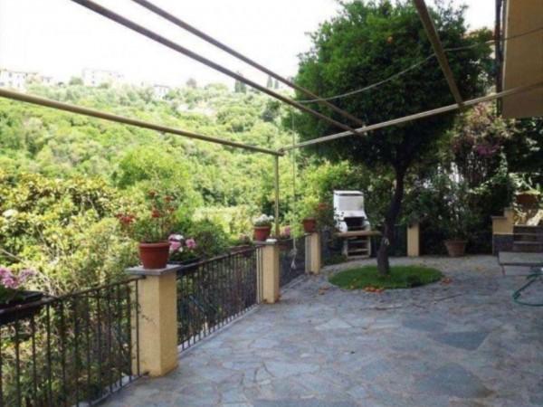 Casa indipendente in vendita a Zoagli, Mare, Arredato, con giardino, 120 mq - Foto 7