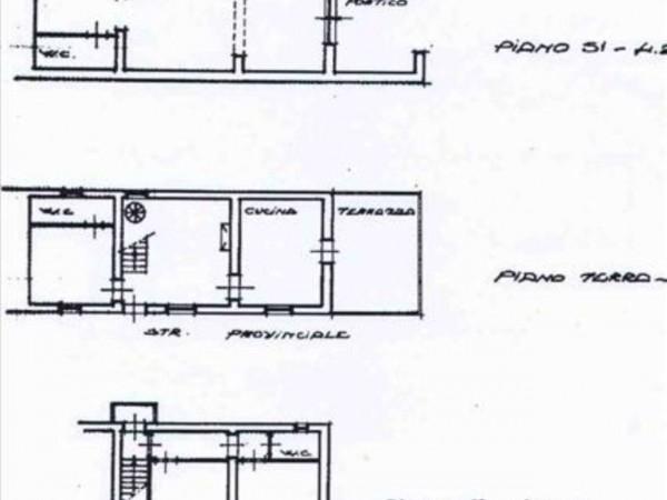 Villa in vendita a Chiusdino, Con giardino, 190 mq