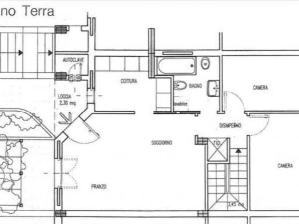 Appartamento in vendita a Monteroni d'Arbia, Con giardino, 101 mq