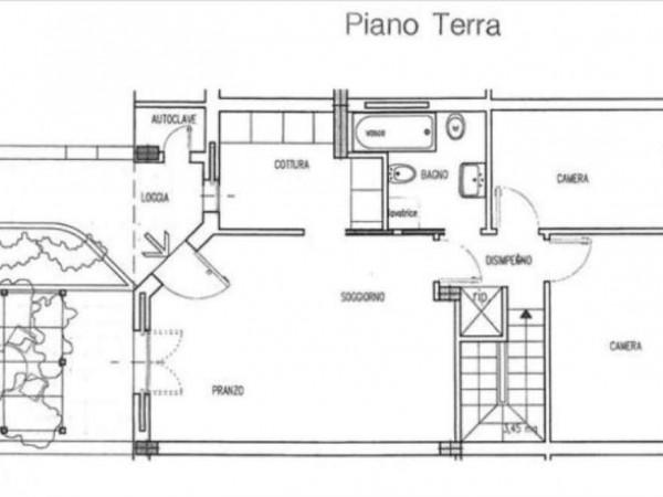 Appartamento in vendita a Monteroni d'Arbia, Con giardino, 101 mq - Foto 18