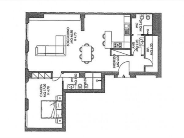 Appartamento in vendita a Siena, 92 mq - Foto 2