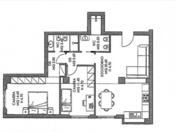 Appartamento in vendita a Siena, 82 mq - Foto 2