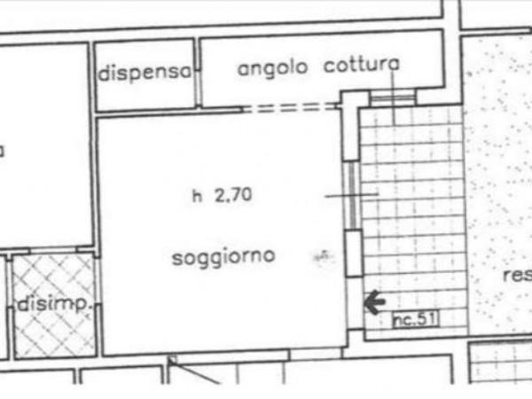 Appartamento in vendita a Sovicille, Con giardino, 64 mq - Foto 6