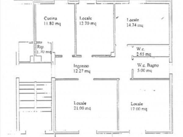 Appartamento in vendita a Sovicille, Con giardino, 100 mq - Foto 1
