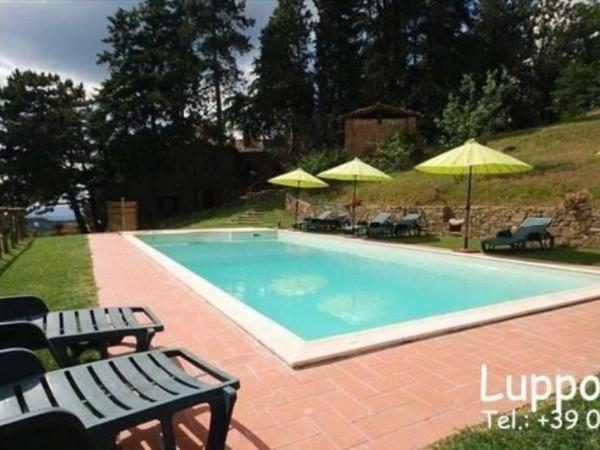 Villa in vendita a Gaiole in Chianti, Con giardino, 400 mq