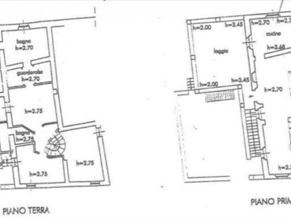Villa in vendita a Monteriggioni, Con giardino, 350 mq