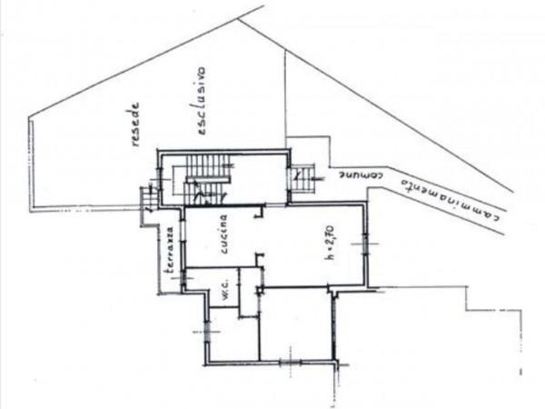 Appartamento in vendita a Monteriggioni, Con giardino, 75 mq - Foto 12