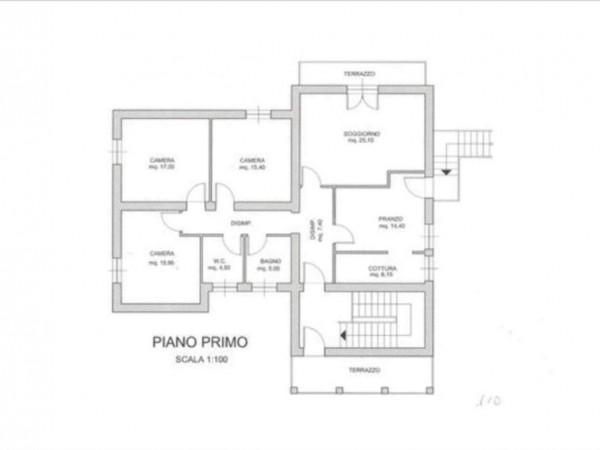 Villa in vendita a Monteriggioni, Con giardino, 250 mq - Foto 2