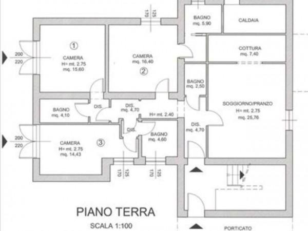Villa in vendita a Monteriggioni, Con giardino, 250 mq - Foto 14
