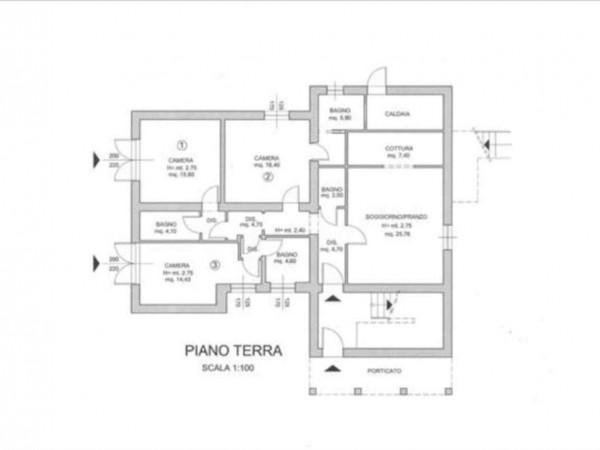 Villa in vendita a Monteriggioni, Con giardino, 250 mq - Foto 3