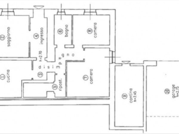 Appartamento in vendita a Castelnuovo Berardenga, Con giardino, 100 mq
