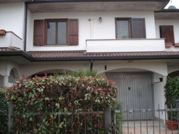 Villa in vendita a Camisano, Residenziale, Con giardino, 150 mq