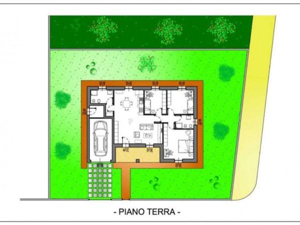 Villa in vendita a Crema, Residenziale A Pochi Minuti Da Crema, Con giardino, 150 mq - Foto 1