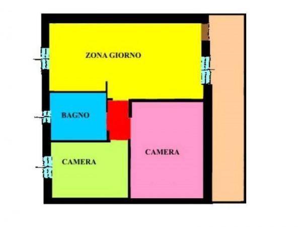 Appartamento in vendita a Torlino Vimercati, Residenziale, 87 mq - Foto 2