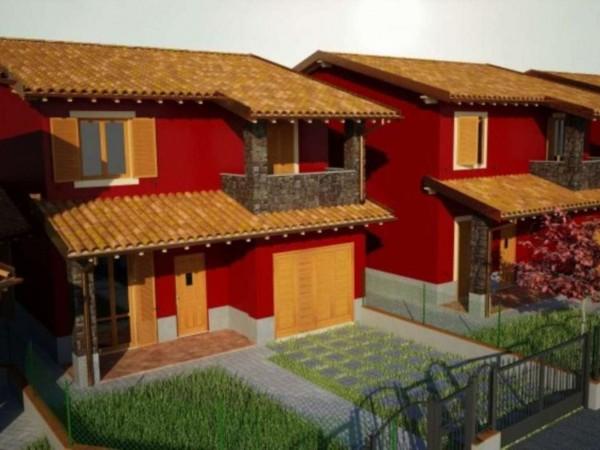Villa in vendita a Cremosano, Con giardino, 160 mq