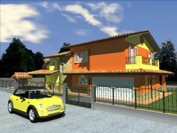 Villa in vendita a Cremosano, Residenziale, Con giardino, 150 mq