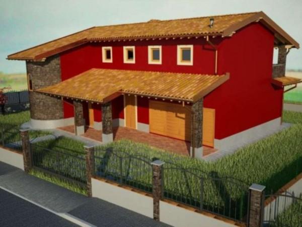 Villa in vendita a Cremosano, Residenziale, Con giardino, 210 mq - Foto 1
