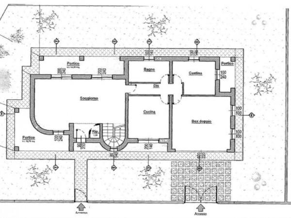 Villa in vendita a Cremosano, Residenziale, Con giardino, 210 mq - Foto 13