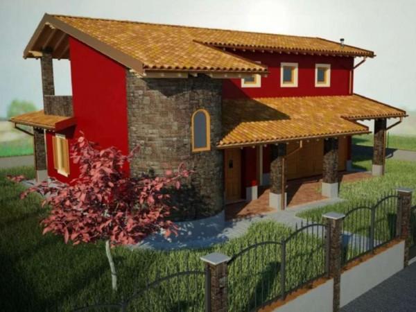 Villa in vendita a Cremosano, Residenziale, Con giardino, 160 mq