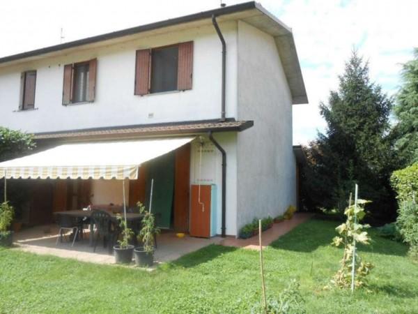 Villa in vendita a Trescore Cremasco, Residenziale, Con giardino, 191 mq