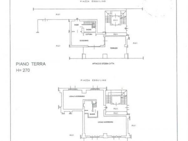 Appartamento in vendita a Milano, Piazza Esquilino, Con giardino, 130 mq - Foto 2