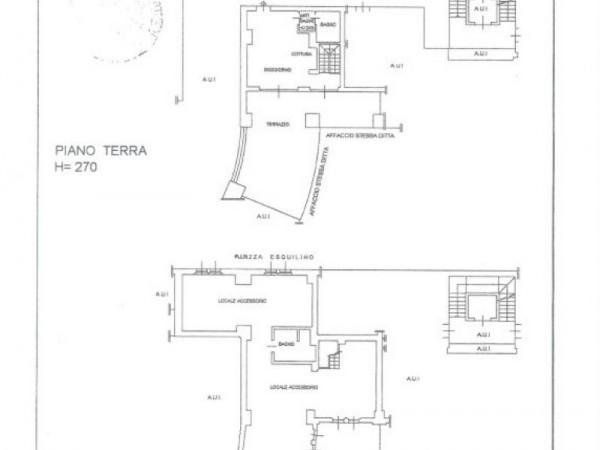Appartamento in vendita a Milano, San Siro, Con giardino, 169 mq - Foto 2
