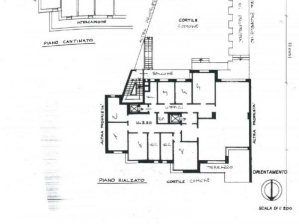 Ufficio in vendita a Milano, Cadorna, Con giardino, 335 mq - Foto 2