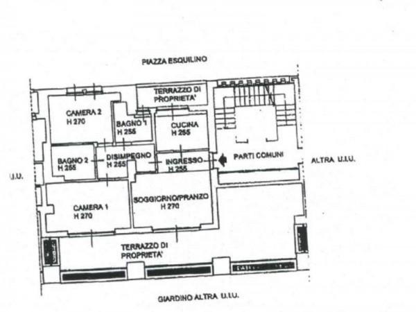 Appartamento in vendita a Milano, San Siro, 116 mq - Foto 2