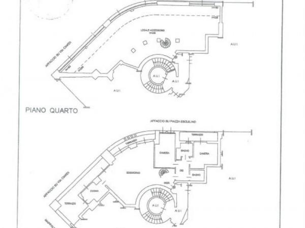 Appartamento in vendita a Milano, Piazza Esquilino, 265 mq - Foto 2