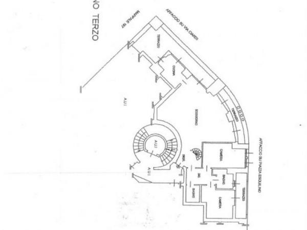 Appartamento in vendita a Milano, San Siro, 158 mq - Foto 2
