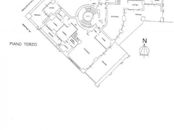 Appartamento in vendita a Milano, 873 mq - Foto 3