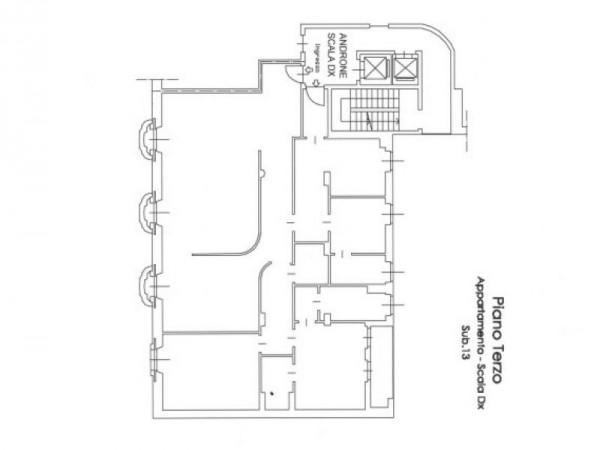 Appartamento in vendita a Milano, Santa Maria Delle Grazie, Con giardino, 230 mq - Foto 2