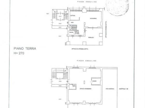 Appartamento in vendita a Milano, Piazza Esquilino, Con giardino, 178 mq - Foto 2