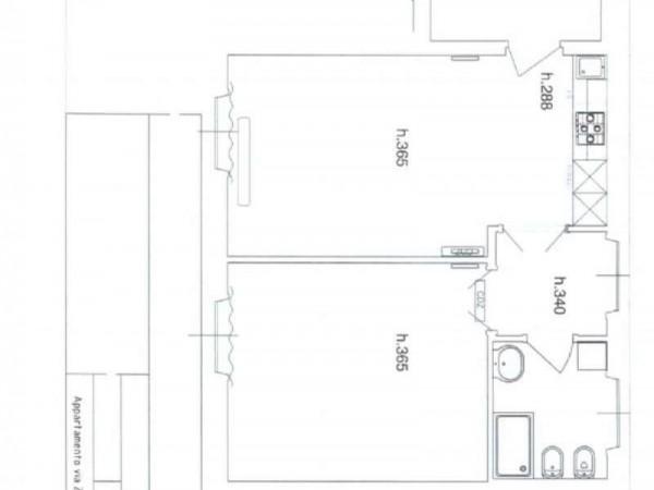 Appartamento in affitto a Milano, Magenta, Con giardino, 60 mq - Foto 2