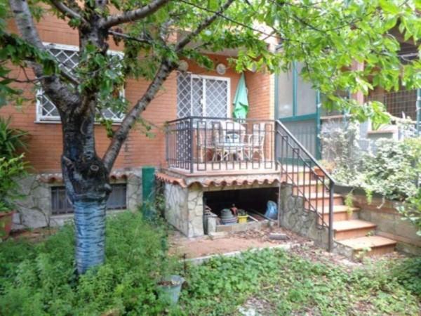 Villetta a schiera in vendita a Roma, Ottavia-lucchina, Con giardino, 140 mq